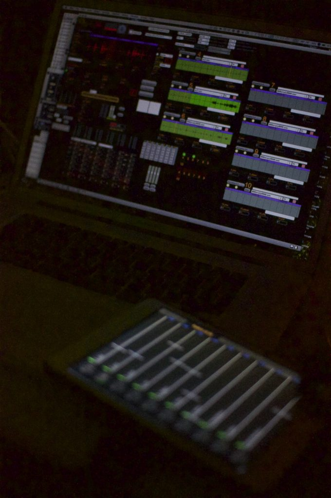 Max/MSP patch and Parat+