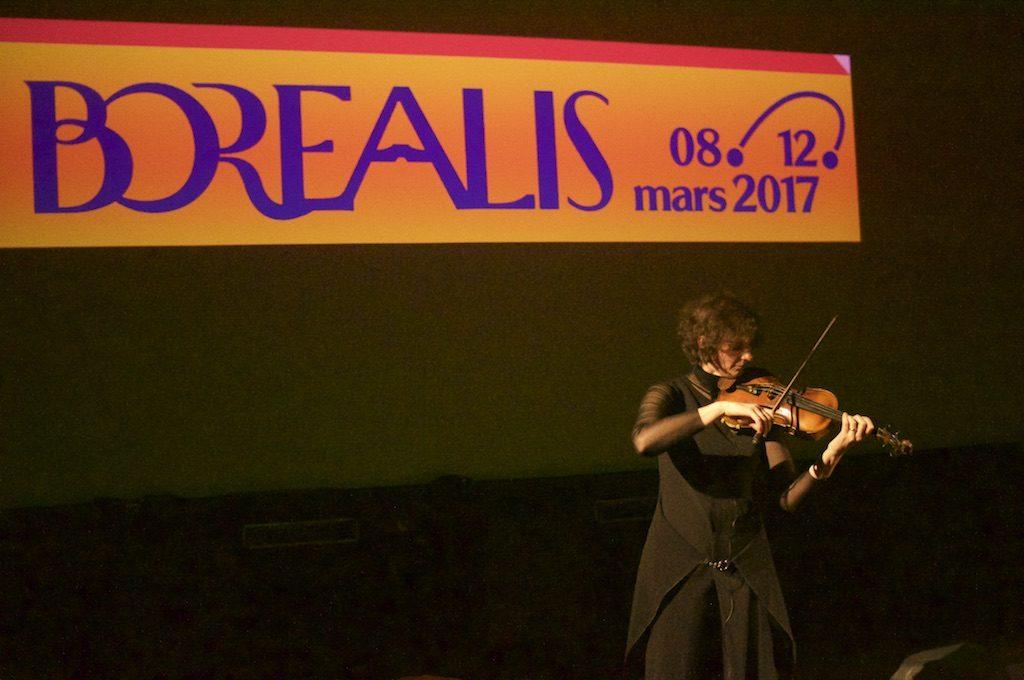 Angharad Davies @Borealis Festival, Bergen, 2017